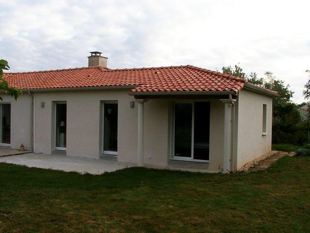 Maison avec l'extension