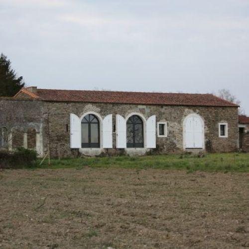 Changement de destination d'une cave au Loroux Bottereau (44)