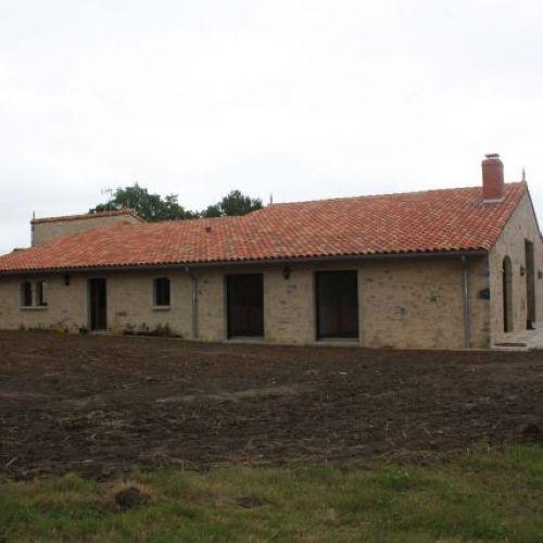 Réhabilitation d'une grange en Vendée (85)